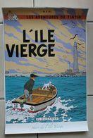 Affiche Tintin . Kuifje . L'île Vierge . Plougerne , Phare De L'île Vierge - Manifesti & Offsets