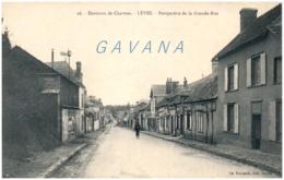28 Environs De Chartres - LEVES - Perspective De La Grande Rue - Frankrijk