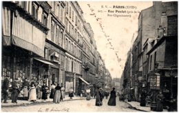 75 PARIS - Rue Poulet (pris De La Rue Clignancourt) - Distrito: 18