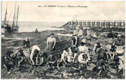 44 LE CROISIC - Pêche à La Palourde - Le Croisic