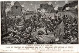 EXTRAIT DU PANORAMA DE LA GUERRE 1914 PRISE DU CHATEAU DE MONDEMENT - Histoire