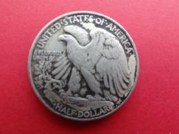 Etats-unis  Half Dollar  1942  Km 142 - 1916-1947: Liberty Walking