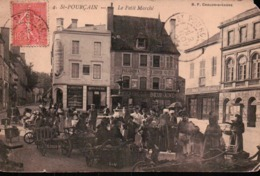 SAINT POURCAIN. Le Petit Marché. Animée. - Francia