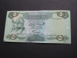 5 Five Dinars - LIBYE 1980 - Central Bank Of Libya **** EN ACHAT IMMEDIAT **** - Libya