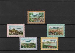 Macau - 5 Selos Novos 1960 - Várias Vistas - Filatelia - Unused Stamps - Timbres - Philately - Macao - Portugal - China - Nuevos