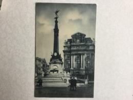 BRUXELLES  MONUMENT ANSPACH  SBP N° 132 - Brüssel (Stadt)