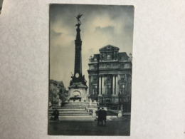 BRUXELLES  MONUMENT ANSPACH  SBP N° 132 - Brussel (Stad)