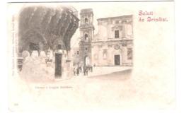 Italy - Saluti Da Brindisi - Duomo E Loggia Balzamo - Old Card - Brindisi