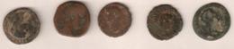 LOT Van 5 Romeinse Zeer Mooie Munten, Waaonder Marcus Aurelius & Augustus, TOPaanbieding! - Romanas