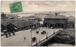 COLOMBO Harbour, CEYLON - Sri Lanka (Ceylon)