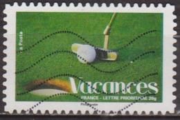 Nature, Jardinage - FRANCE - Club Et Balle De Golf - N° 4190 - 2008 - Oblitérés