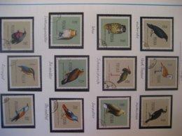 Polen- Satz Geschützte Vögel Mi. 10721197-1208, Satz Insekten Mi. 1277-1288 Mit Falz - 1944-.... Republik