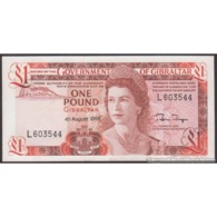 TWN - GIBRALTAR 20e - 1 Pound 4.8.1988 Prefix L UNC - Gibraltar