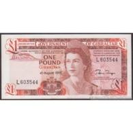 TWN - GIBRALTAR 20e - 1 Pound 4.8.1988 Prefix L UNC - Gibilterra