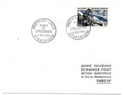 MARINE = 67 STRASBOURG 1956 = CACHET PREMIER JOUR  ' PORT  ' + N° Yvt 1080 - FDC