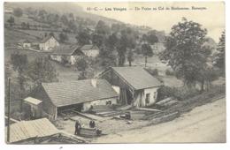88-BARANCON-De Fraize Au Col Du Bonhomme...1915  Animé  Scierie... - Frankreich