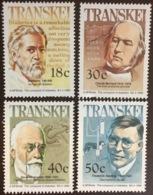 Transkei 1990 Medical Celebrities MNH - Transkei