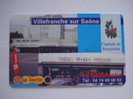 """Carte Téléphonique Prépayée Française  """" La Touche """" (neuve Sans Code). - France"""