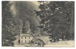 88-Vallée Des CHAVRONS - Scierie De La Croisette...1915  Animé - Frankreich
