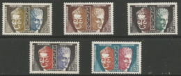 France - 1961 UNESCO Buddha & Hermes MNH ** - Unused Stamps