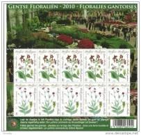 Gentse Floraliën Met Bloemzaadje - 4000/01**- BF Floralies Gantoises MNH - Compleet Vel Lychnis Coronaria XX - Panes