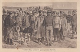 Völkerschau Unserer Gefangenen Feinde - Weltkrieg 1914-18