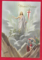 CARTOLINA VG ITALIA - BUONA PASQUA - Cristo Pastore - P. Ventura - CECAMI 7287 - 10 X 15 - 1959 AUGUSTA - Pâques