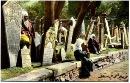 CONTANTINOPLE - Cimetière Turc à Scutari - Turquie