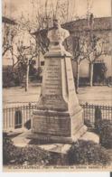 SAINT RAPHAEL. CPA Voyagée En 1925 Monument Au Général Galliéni - Saint-Raphaël