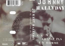 """Johnny Hallyday  """"  Ça Ne Change Pas Un Homme  """" - Audio Tapes"""