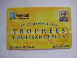 """Carte Téléphonique Prépayée Française """" Intercall """"  (neuve Sans Code). - France"""
