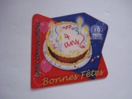 """Carte Téléphonique Prépayée Française """" Intercall """" (utilisée). - France"""