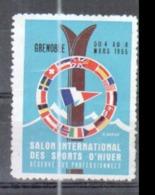 Grenoble, Salon International Des Sports D'hiver Reservé Aux Professionnels, 4 Au 8 Mars 1965 - Sports