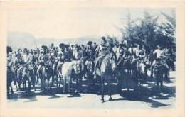LESOTHO - MISSIONS DES OBLATS DE MARIE IMMACULEE - BASUTOS - LE FILS DU ROI GRIFFITH MENE LA CAVALCADE - Lesotho