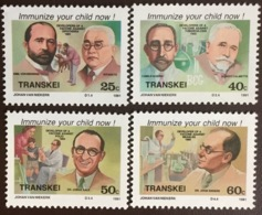 Transkei 1991 Medical Celebrities MNH - Transkei