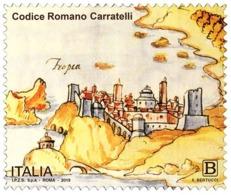 Italia Repubblica 2019 Codice Romano Carratelli Euro 1,10 MNH** Integro - 6. 1946-.. República