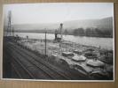 SCLAIGNEAUX -PHOTO 8/7/1927 (23 X 17 Cm) -Construction Bâtiment D'usine Aux Carrières DUMONT-WAUTIER (HERMALLE SOUS HUY) - Plaatsen