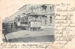Lódz Lodz Lodsch - Rue Piotrkowsa Tram No. 16 Top! - Polen