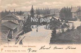 Alsó-Tatrafüred - Unter-Schmecks - 1905 - Slovaquie