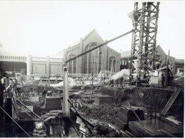 BEYNE-HEUSAY - PHOTO  4/1930 (23 X 17 Cm)  - Charbonnage De Wérister - Fondations De Bâtiments Pour Chaudières - Beyne-Heusay