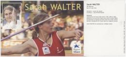 Sarah WALTER SR Obernai Lancer De Javelot - Cartes Postales