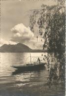 Paesaggio Lacustre Con Caratteristica Barca A Remi, Posta Militare 111, Visto X Censura (51) - Agricoltura