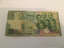 Billet 10 Cedis Ghana 2010 - Ghana