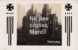 Dadizele - Westflandern - Église Détruite -  Carte Photo Allemande-Guerre 14-18-1WK - Non Classificati