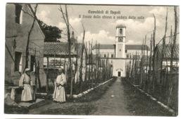 CAMALDOLI Di Napoli Chiesa Veduta Delle Celle Animato C. 1908 - Napoli (Naples)