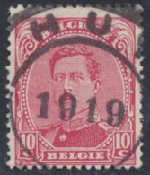 """émission 1915 - N°138 Obl De Fortune DC """"Huy 1919"""" - 1915-1920 Albert I"""