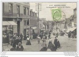 BONSECOURS ..--  Grand ' Rue Prise De L' Eglise .1908 Vers PARIS ( Melle SORISIER? ) . Voir Verso . - Péruwelz