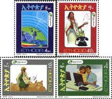 ETHIOPIE Ethio Telecoms 4v 2014 Neuf ** MNH - Ethiopie