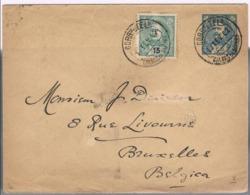 Portugal, 1902, Caldas Da Rainha-Belgica - Lettres & Documents