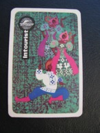 USSR Soviet Russia Pocket Calendar Intourist 1969 - Calendriers